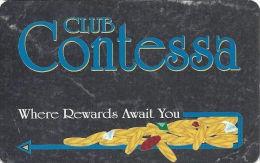 Contessa Casino Cruise Ship Slot Card - N. Palm Beach, FL - No Text Over Mag Stripe  (BLANK) - Casino Cards