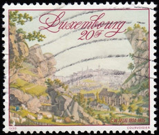 LUXENBOURG - Scott #828 Congress Of Vienna, 175th Anniv. (*) / Used Stamp - Luxembourg