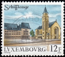 LUXENBOURG - Scott #842 Schifflange (*) / Used Stamp - Luxembourg