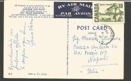 CAN1--- -POSTA AEREA-  CANADA,  MACCHINA D'EPOCA,  1921 PAIGE  ROADSTER, - Andere