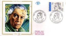 61  TINCHEBRAY  André Breton 1896/1966 Poète Surréaliste  23/02/91 - Escritores