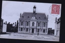 CHATILLON COLIGNY HOTEL DE VILLE - Chatillon Coligny