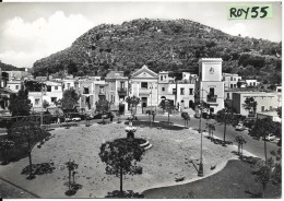 Campania-napoli- Ischia Lacco Ameno Piazza S.restituta Veduta Animata Anni 50/60 - Italia