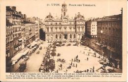 LYON - 69 -  Place Des Terreaux - ENCH0616 - - Lyon