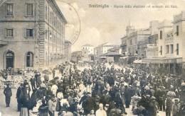 Ventimiglia - Piazza Della Statione Cal Mercato Dei Fiori - Imperia