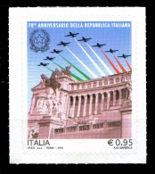 2016 ITALIA Repubblica 70° Anniversario Della Repubblica Integro MNH ** - 1946-.. République