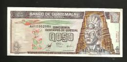 GUATEMALA - BANCO De GUATEMALA - 50 CENTAVOS De QUETZAL (1998) - Guatemala