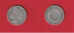 Cérès  --  1  Franc1887 A  --  TB - H. 1 Franco