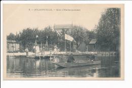 Carte De Jolainville Quai  D' Embarquement ( Recto Verso ) - France