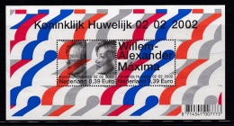NEDERLAND, 2002, Mint Block, Wedding Maxima-Willem Alexander,    Bl 2046, #7942 - Period 1980-... (Beatrix)