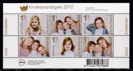 NEDERLAND, 2012, Mint Block, 3 Princesses , Bl 1224, #7947 - Period 1980-... (Beatrix)