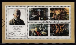 RSA, 1995, Cancelled To 0rder Block Frans Oerder Paintings  Bl17, #5367 - South Africa (1961-...)