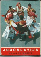 Tourism Brochures.small Booklet.strip Of 16 Pictures,Folk Costumes.Yugoslavia,Macedonia,Slovenia.Croatia,Serbia,Bosnia, - Tourism Brochures
