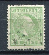 Niederländisch - Indien Nr.8         O  Used       (0138) Zähnung: 12,50 : 12,00 - Niederländisch-Indien