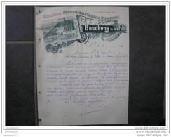F 45 LORCY Manufacture Engrais Chimiques BOUCHENY Et Fils 1900 - Agriculture