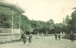Cpa Luçon Jardin Dumaine - Lucon