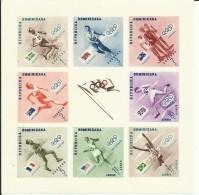 REPUBLICA DOMINICANA HB 7  ( SIN DENTAR)  MNH  ** - Dominican Republic