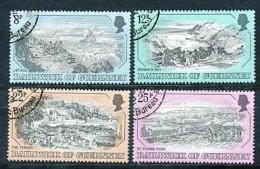 GUERNSEY Mi. Nr. 241-244 Alte Stiche - Used - Guernesey