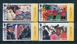 GUERNSEY Mi. Nr. 782-785 Veranstaltungen Auf Guernsey; Europa: Nationale Feste Und Feiertage - Used - Guernsey