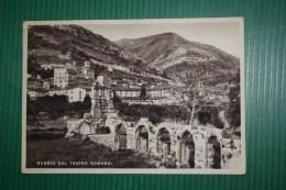 CARTOLINA GUBBIO  - AFFRANCATO FERROVIE - 1940 - Other Cities