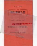 43 - BLESLE - GUIDE AU CONCOURS DU VILLAGE COQUET 1921- NOTICE HISTORIQUE ET ARCHEOLOGIQUE- HOTEL CHASSIGNARD-BARRIERE- - Dépliants Touristiques