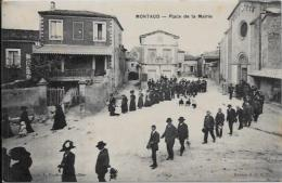 CPA Hérault Circulé Montaud - Otros Municipios