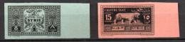 TGC/ Syrie Taxe N° 37 & 38 Non Dentelé  Neuf  XX  MNH   , Cote :  200,00 € , Album 12 - Syria (1919-1945)