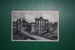 CARTOLINA ROMA - AFFRANCATURA MISTA DECENNALE/IMPERIALE - ANNULLO MOSTRA RIVOLUZIONE FASCISTA   -1933 - Roma (Rome)