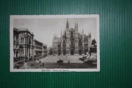 CARTOLINA MILANO -  AFFRANCATURA  DECENNALE - ANNULLO MOSTRA RIVOLUZIONE FASCISTA   -1933 - Milano (Milan)