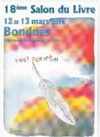 DELAMBRE Jean Michel  - Dessinateur De Presse - Salon  Livre  Bondues -   CPM  10,5x15  TBE - Illustrateurs & Photographes