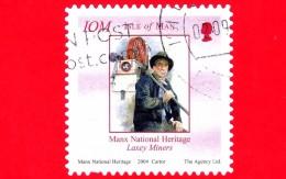 ISOLA DI MAN - Usato - 2004 - Manx National Heritage - Storia Di Man - Professioni - Minatore - Miner - 10 - Isola Di Man