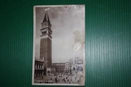 CARTOLINA VENEZIA  - AFFRANCATURA DANTE ALIGHIERI  CON ANNULLO PROPAGANDA POSTALE - 1932 - Venezia (Venice)