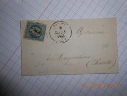 Lot Du 25-06-16_34_Lettre A Determiner Avec N°10, A Voir!!variété Rare - 1852 Louis-Napoleon