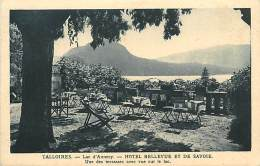 A-16 8677 : TALLOIRES  HOTEL BELLEVUE - Talloires