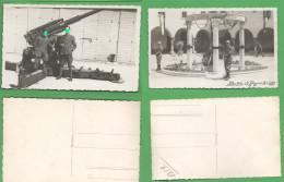 Mantova Caserma Artiglieria Antiaerei 1941 Cannone - Oorlog, Militair