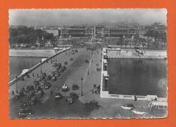 PARIS ET SES MERVEILLES 7.036. - Pont Et Place De La Concorde - Puentes