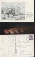 6146) BOHMEN UND MAHREN CECHY A MORAVA CARTOLINA VITA AGRESTE VIAGG 1931 - Boehmen Und Maehren