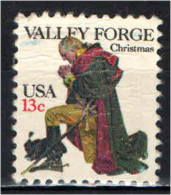 STATI UNITI - 1977 - NATALE - WASHINGTON IN PREGHIERA - USATO - Estados Unidos