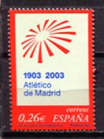 Spain 2003 España / Football Madrid Athletic Team MNH Futbol Atletico De Madrid / Ji34  3 - Beroemde Teams