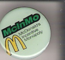 Pin McDonald's Monopoly McInMo - McDonald's