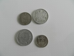 Lot De 4 Monnaies  Petit Tirage   5 Francs 1945b  + 5 Francs 1933 Bazor  + 5 Francs Monaco 1945 +10 Francs Monaco 1946 - Monete & Banconote