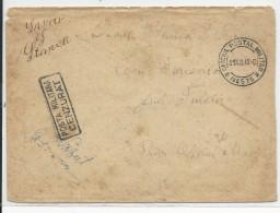 1943 - ENVELOPPE MILITAIRE OFICIUL POSTAL MILITAR N°575 Avec CENSURE