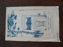 Buvard Publicitaire Illustré Cendre Lessive Saint Marc - Wassen En Poetsen