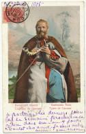 Types Du Caucase Chanteur Joueur Cornemuse Bagpipe Used From Odessa - Ukraine
