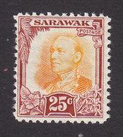 Sarawak, Scott #105, Mint Hinged, Sir Charles Vyner Brooke, Issued 1932 - Sarawak (...-1963)