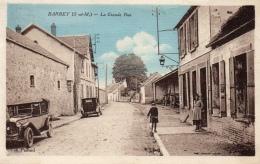 77 SEINE ET MARNE - BARBEY La Grande Rue - Altri Comuni