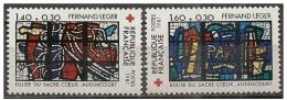 Francia/France: Vetrate Di Fernand Léger, Vitraux De Fernand Léger, Stained Glass By Fernand Léger - Vetri & Vetrate