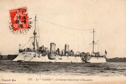 3353. CPA MARINE DE GUERRE. LE GALILEE CROISEUR ECLAIREUR D'ESCADRE - Matériel