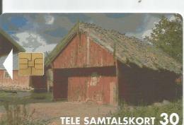 Åland Islands.  Boathouse. - Aland