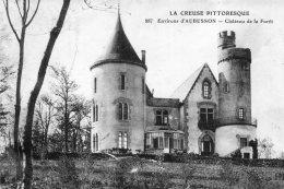 V3975 Cpa 23  Aubusson -    Château De La Forêt - Aubusson